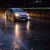 Дорожная ситуация в центре города осложнилась из-за непогоды