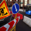 На нескольких улицах временно ограничено движение транспорта