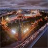 Кремль с высоты птичьего полёта.