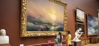 Выставка Айвазовского по посещаемости бьет рекорд выставки Серова