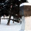 Памятник верстовому столбу.