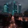 Дорога ведущая к ММДЦ Москва-Сити