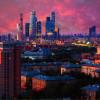 Невероятное небо над Москвой