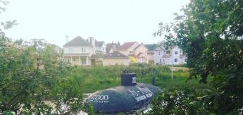 В Истринском районе всплыла подводная лодка