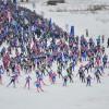 Московский этап всероссийской гонки «Лыжня России — 2017»