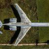 Музей ВВС РФ Монино с высоты птичьего полета