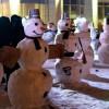 Фестиваль снеговиков в «Сокольниках»
