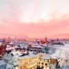 Волшебная красота зимней Москвы