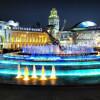 Сезон фонтанов в Москве открыт