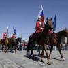 Выступление всадников пройдет 22 августа в Москве в честь Дня государственного флага